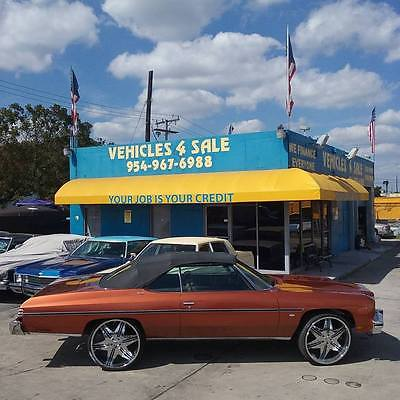 1975 Chevrolet Caprice CAPRICE CONVERTIBLE CLASSIC 1975' CHEVY CAPRICE CONVERTIBLE,POWER TOP WITH GLASS,74,021 MILES,CLEAN TITLE,AC