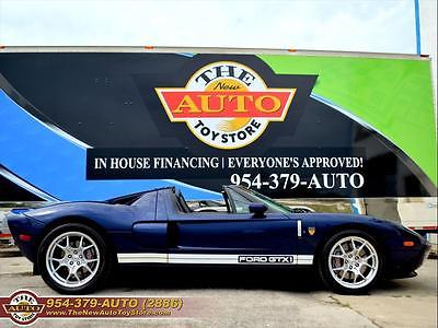 2006 Ford Ford GT Base Coupe 2-Door 2006 Ford GT GTX1 LESS THAN 100 Built CONVERTIBLE !! Finance & Trades ok