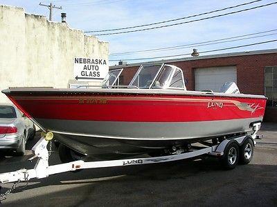 2003 LUND 2150 BARON MAGNUM FISHING BOAT LIKE CRESTLINER, ALUMACRAFT, TRACKER