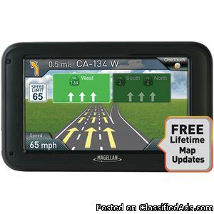 Magellan Roadmate 5322lm 534 Gps Device With Free Lifetime Map Update