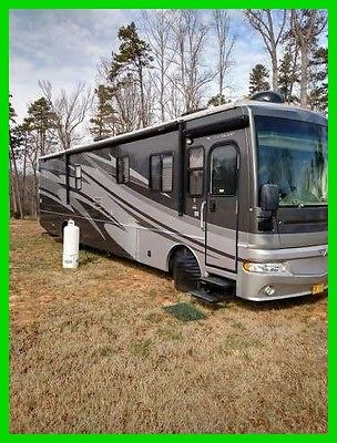 2008 Fleetwood Expedition 38V 39' Class A RV Cummins Diesel 2 Sides Generator NC