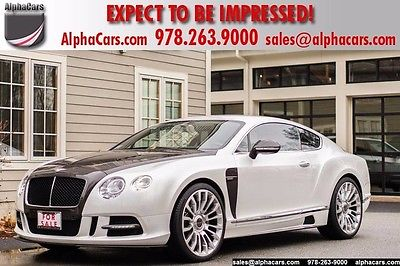 2012 Bentley Continental GT Mansory Mansory Custom Built V8 Twin Turbo One Owner World Wide Shipping
