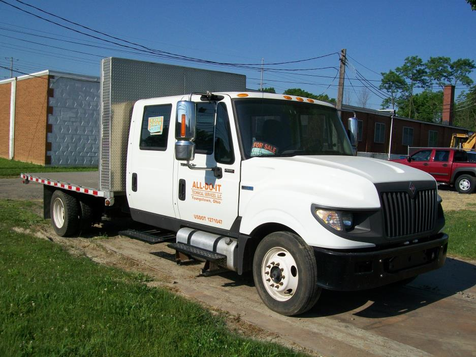 2014 International Terrastar Flatbed Truck