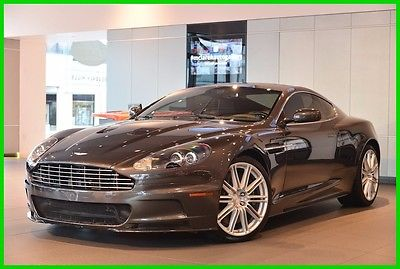2009 Aston Martin DBS Base Coupe 2-Door 2009 Used 6L V12 48V Manual RWD Premium