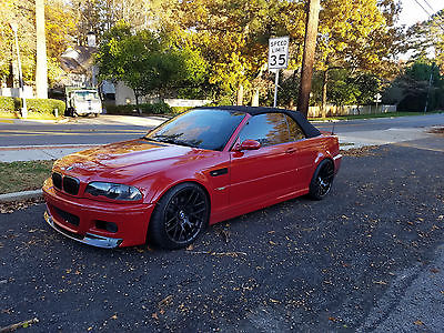 2001 BMW M3 Base Convertible 2-Door BMW M3 AirLift Suspension 19