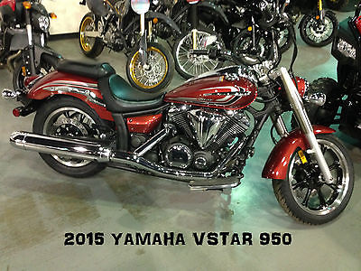 2015 Yamaha VSTAR 950  New 2015 Yamaha VSTAR 950 0mi Cruiser Copper 1.59% Finance XV XVS95 No BS Fees