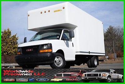 2008 GMC Savana Movers Van 08 GMC Savana Cutaway 15ft Box Truck 6.6L Duramax Dmax Diesel Chevy Chevrolet