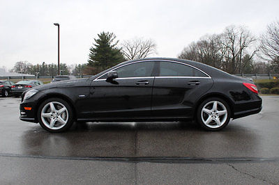 2012 Mercedes-Benz CLS-Class 4dr Coupe CLS550 4MATIC 4dr Coupe CLS550 4MATIC Low Miles Automatic Gasoline 4.6L 8 Cyl BLACK