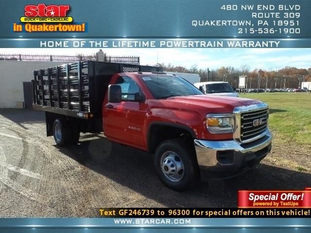 2016 Gmc Sierra 3500hd  Flatbed Truck