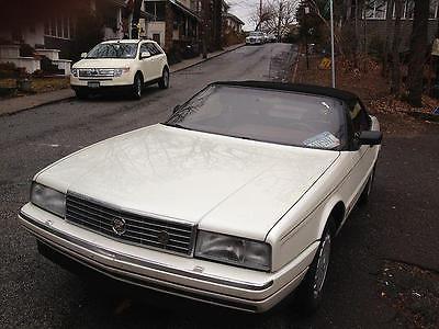 1990 Cadillac Allante' -- 1990 Cadillac Allante' 64000 Miles WHITE CONV 8 Cylinder Engine 4.5L/275 Automa