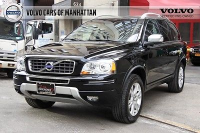 2014 Volvo XC90 3.2 AWD Certified Pre-Owned CPO Warranty 10/24/20-100k Heated HomeLink Air Quality Blind Spot Active Bi-Xenon