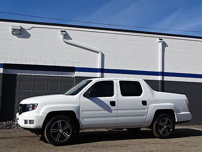 2014 Honda Ridgeline Sport Honda Ridgeline Sport 32k Mi Taffeta White Clean Carfax Beautiful truck