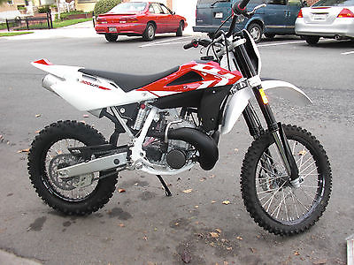 2011 Husqvarna WR 300  2011 HUSQVARNA WR 300 ~ 2 STROKE ENDURO ~ NEW NEW NEW . I hear this bike is fast