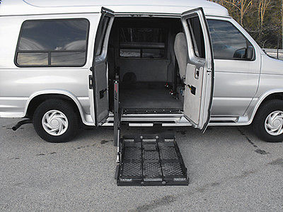 2001 Ford E-Series Van Braun Handicap Wheelchair Van 2001 Ford E150 Handicap Wheelchair Conversion Van, 52,803 Original-Miles