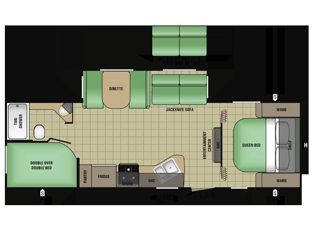 2017 Starcraft RVs AR-ONE MAXX 26BHS