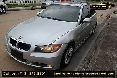 2008 BMW 3-Series 328i 2008 BMW 328 328i 65,990 Miles SILVER 4dr Car 3.0 Automatic