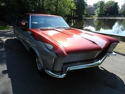 1965 Buick Riviera 401 1965 BUICK RIVIERA 401 67000 Miles BLACK COUPE Automatic