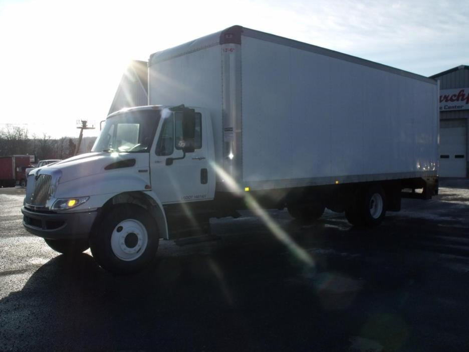 2012 International 4300 Sba  Box Truck - Straight Truck