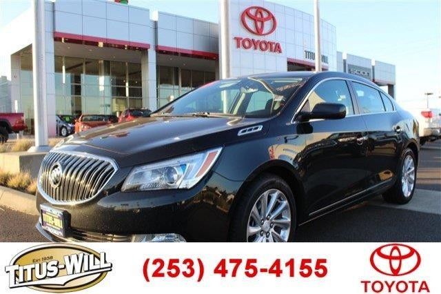 2015 Buick LaCrosse Base 4dr Sedan
