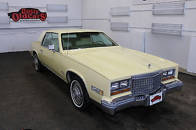 1980 Cadillac Eldorado Runs Drives Body Int Vgood 6L 3spd auto 1980 Yellow Runs Drives Body Int Vgood 6L 3spd auto!