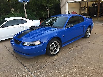 2003 Ford Mustang Mach 1 2003 ford mustang mach 1 azure blue manual