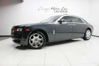 2013 Rolls-Royce Ghost EWB Sedan 4-Door 2013 Rolls-Royce Ghost EWB Sedan MSRP $356k+ Rear Theatre Individual Seating WOW