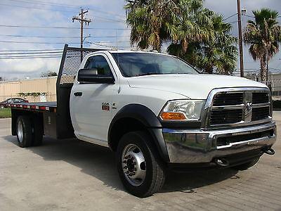 2011 Dodge Ram 5500 4WD 14' Flat Bed 2011 Ram 5500 Cummins Diesel 6.7L, 4WD, 14' Flat Bed