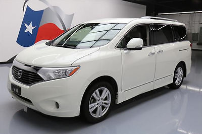 2013 Nissan Quest 2013 NISSAN QUEST SL 7PASS HTD LEATHER DVD REAR CAM 51K #071150 Texas Direct