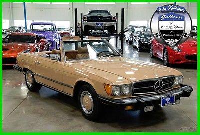 1976 Mercedes-Benz 400-Series SL 1976 Mercedes 450SL Auto Convertible 2 Tops ALL SL Documentation Since New 76