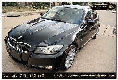 2010 BMW 3-Series 335d 2010 BMW 3 Series 335d 84500 Miles BLACK 4dr Car Diesel Straight 6 Cylinder Engi
