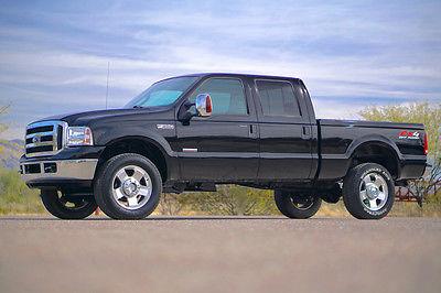 2006 Ford F-350 Lariat Crew Cab Pickup 4-Door 2006 Ford F-350 69k mi Diesel Lariat 4x4 4wd Crew Cab F350 Bulletproof Dealer