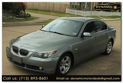 2007 BMW 5-Series 530i 2007 BMW 530i 530i 116,640 Miles GRAY 4dr Car 3.0 Automatic