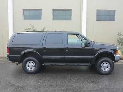 2000 Ford Excursion FREE SHIPPING NATIONWIDE! 4WD 7.3L DIESEL 7.3L Diesel 4X4 Limited EXCELLENT CONDITION! RUST FREE CALIFORNIA FAMILY OWNED!!