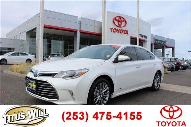 2016 Toyota Avalon Hybrid Limited 4dr Sedan