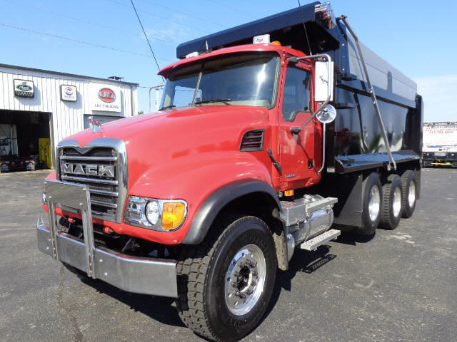 2006 Mack Cv713 Triaxle D Dump Truck