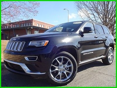 2016 Jeep Grand Cherokee ONE OWNER CLEAN CARFAX WE FINANCE TRADES WELCOME 3.0L ECO DIESEL AUTOMATIC PANO ROOF HARMAN KARDON REAR DVD TOUCHSCREEN NAV BT