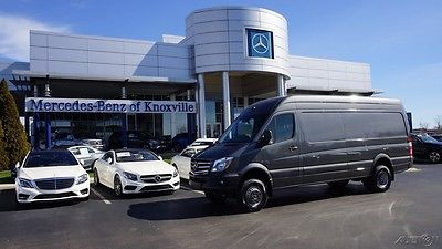 2016 Mercedes-Benz Sprinter Sprinter 3500 Cargo Van 170 in. WB 4WD DRW High Ro 2016 Sprinter 3500 Cargo Van 170 in. WB 4WD DRW High Roof Turbo Diesel 4x4