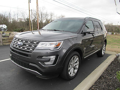 2016 Ford Explorer Limited Sport Utility 4-Door 2016 FORD EXPLORER 4X4 LIMITED