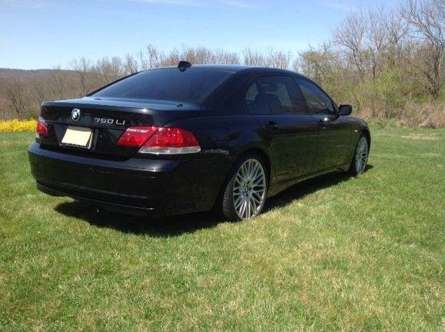 2007 BMW 7 Series LI Black On Loaded Sport Pkg