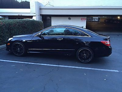 2010 Mercedes Benz 500 Series E550 2010 Mercedes Benz E550 2dr Coupe Black
