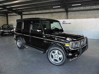 2008 Mercedes-Benz G-Class AMG 55 2008 Mercedes-Benz G55 AMG - Black-on-black, ONE OWNER, CLEAN CARFAX, DESIGNO!