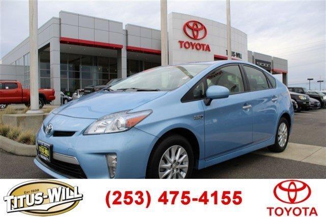 2013 Toyota Prius Plug-in Hybrid 5dr HB (Natl)