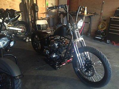 2014 Custom Built Motorcycles Bobber  custom bobber