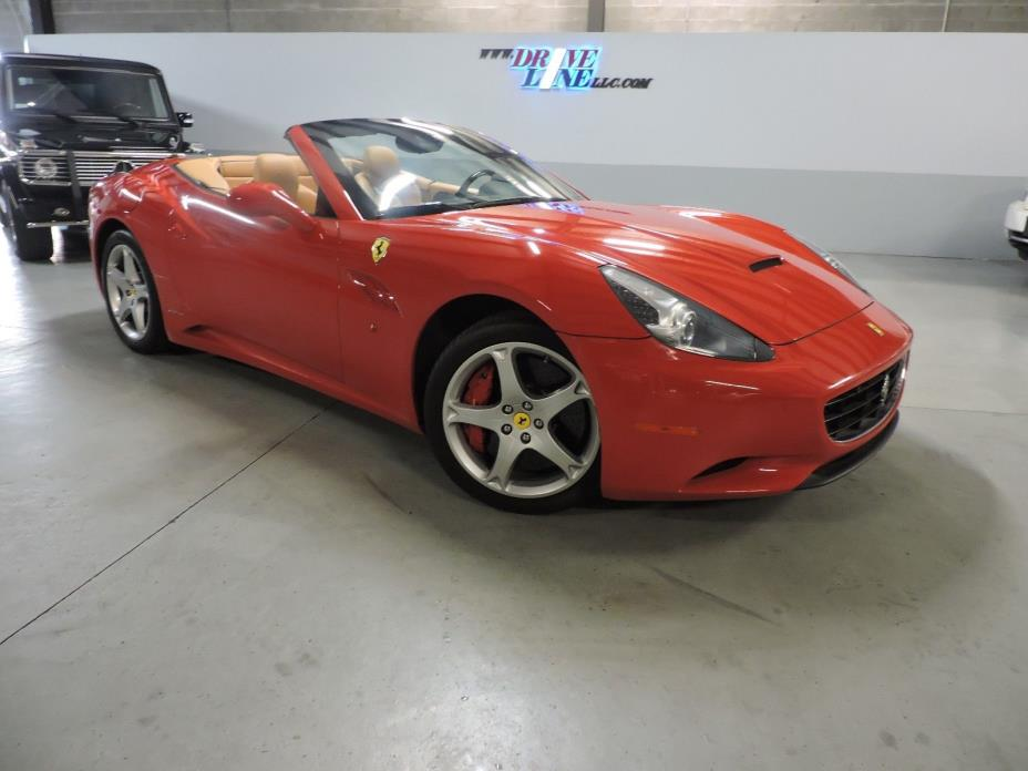 2010 Ferrari California Convertible 2-Door 2010 Ferrari California Convertible - Up to date service, CLEAN CARFAX!!