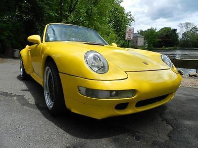 1974 Porsche CARRERA 2DR 1974 PORSCHE CARRERA 2DR 25000 Miles YELLOW CONVERTIBLE 6 CYL Manual
