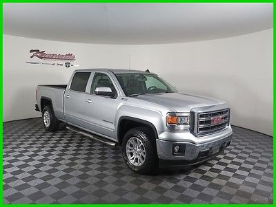 2014 GMC Sierra 1500 SLE 4x4 V8 Crew Cab Truck Heated Leather Seats 88747 Miles 2014 GMC Sierra 1500 SLE 4WD Crew Cab Backup Camera EASY FINANCING