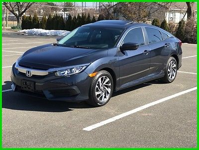 2016 Honda Civic EX 2016 EX Used 2L I4 16V Automatic FWD Sedan