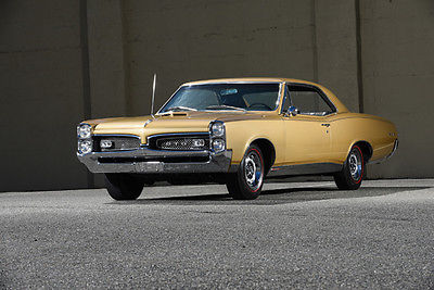 1967 Pontiac GTO PHS Documented, Original Pro-Tecto-Plate, Manual!! 1967 Pontiac GTO