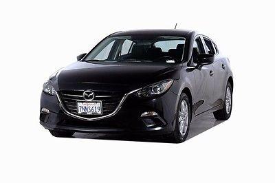2014 Mazda Mazda3 i 2014 Mazda Mazda3 i 21480 Miles Black 4D Hatchback SKYACTIVÂ-G 2.0L 4-Cylinder