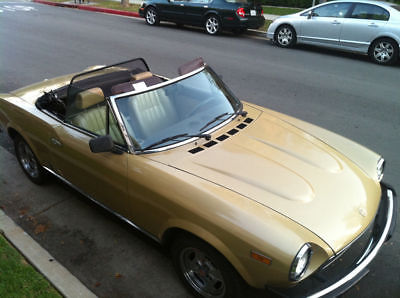 1981 Fiat Other Spider Convertible 2-Door 1981 Fiat 124 Spider Convertible 2-Door 2.0L